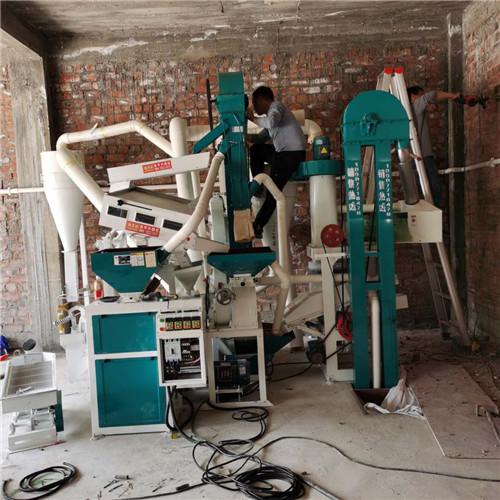 15-15组合碾米机新型重力筛米机案例